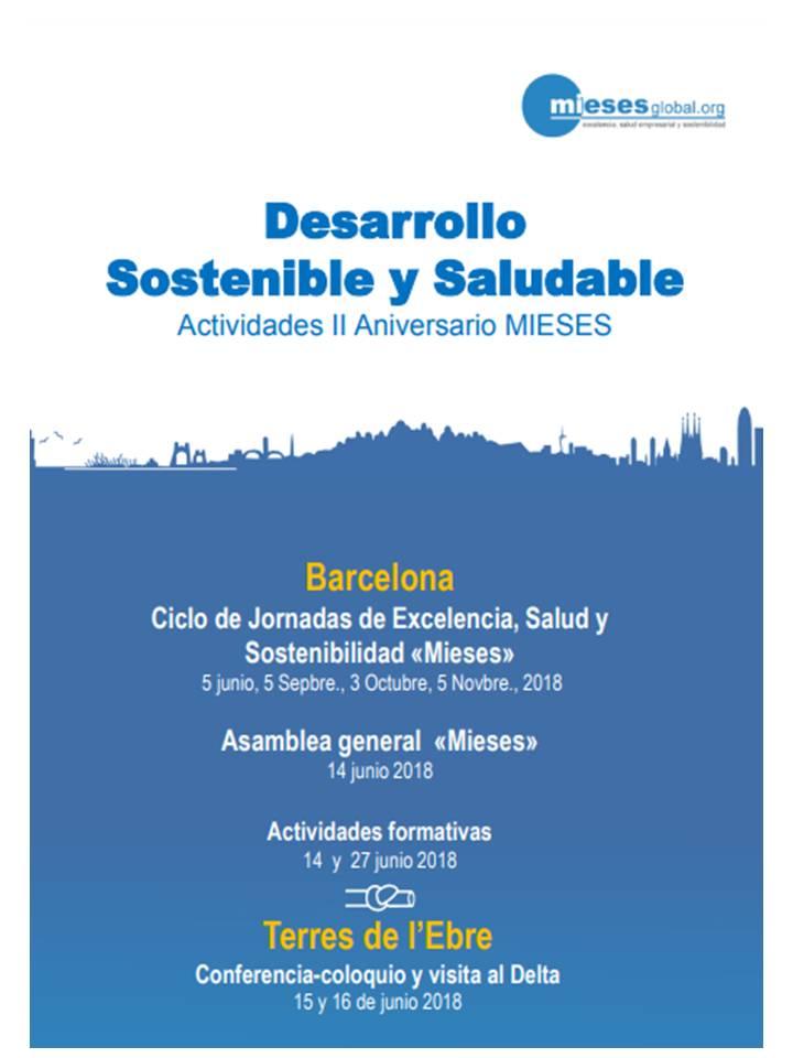 Desarrollo Sostenible y Saludable-Actividades II Aniversario MIESES