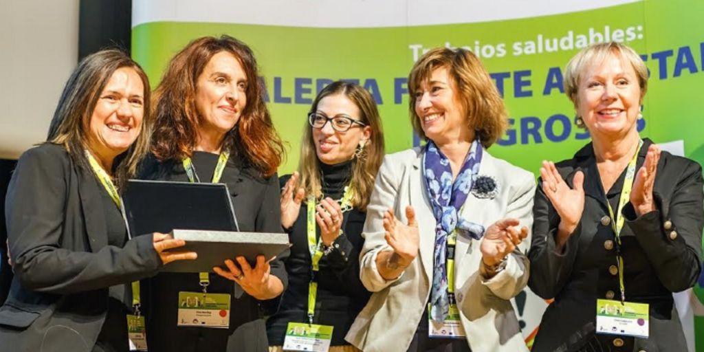 """Entrevista a Ester Martí, premiada por EU-OSHA por """"Trabajos saludables y la alerta frente a sustancias peligrosas"""""""